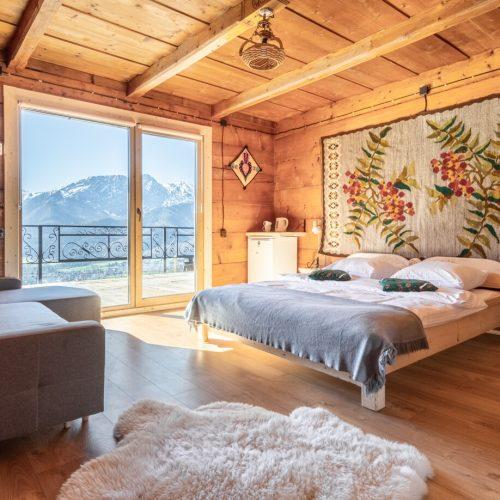 pokoje z widokiem na góry