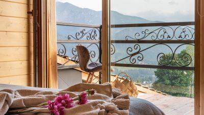 Kościelisko pokoje w góralskim klimacie z widokiem na góry