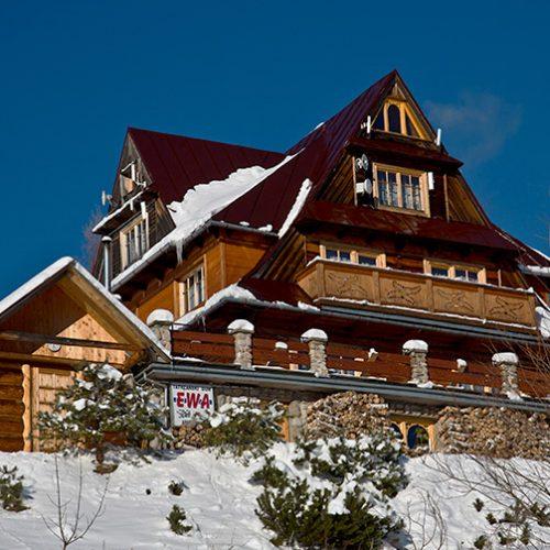 dom tatrzański ewa kościelisko zima