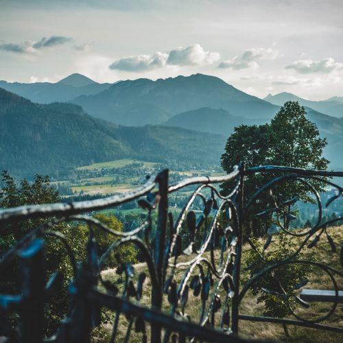 nocleg z widokiem na góry