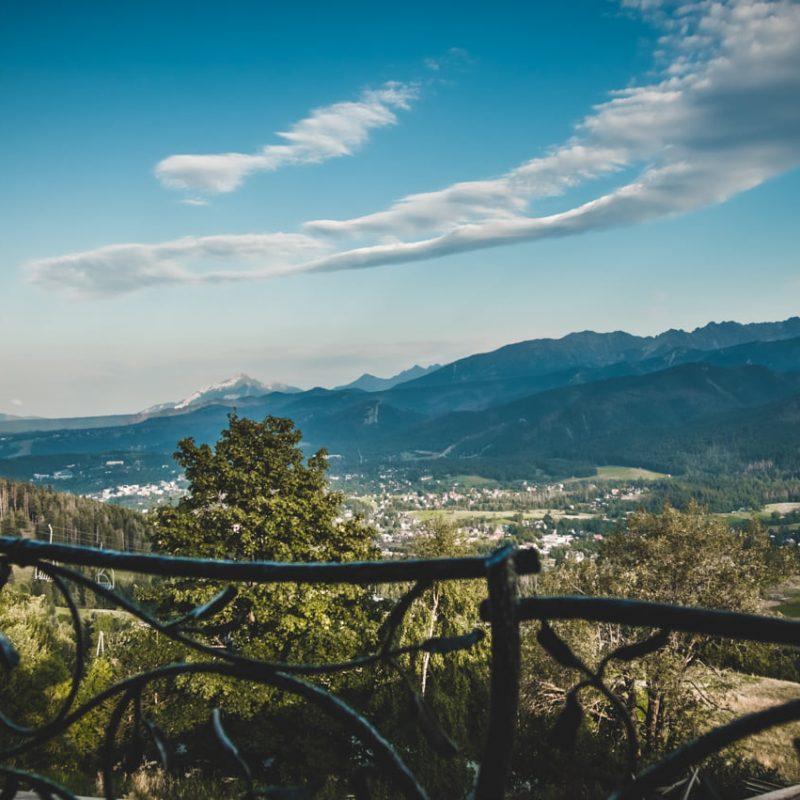 Kościelisko pokoje z widokiem na góry