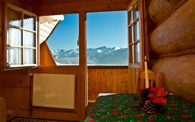 pokój z widokiem na góry dom tatrzański ewa