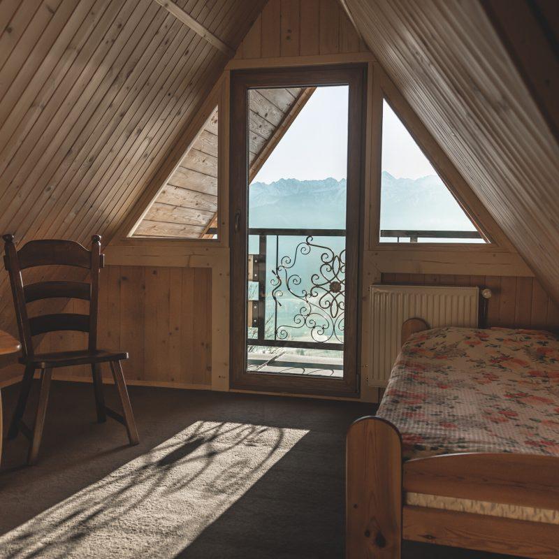 Pokój 2-osobowy w domku regionalnym